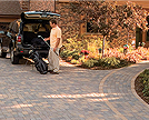 Borgert Paver Drive With attached Walkway Woodbury Minnesota