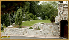 Natural Stone Retaining Wall Installation Plymouth mn