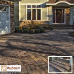 Rochester Concrete Products 2015 National Brochure Paver Driveway Feature